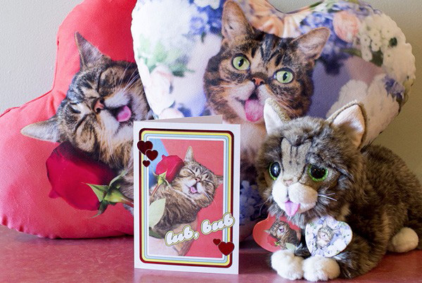 Lil Bub Valentine's Day products