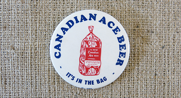 Canadian Ace button