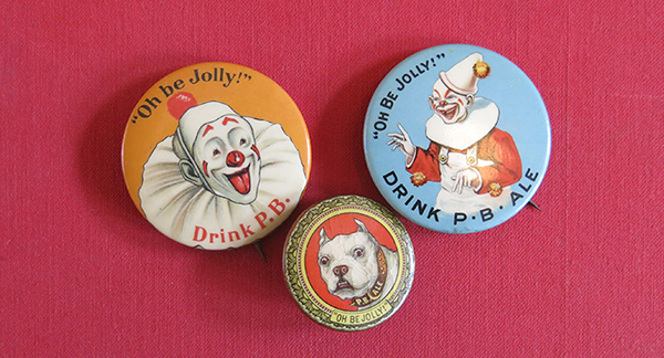 Bunker Hill Brewery buttons