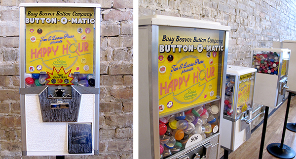 button vending machine