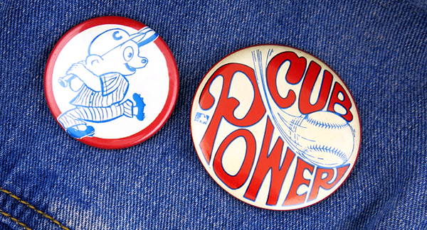 chicago cubs power buttons