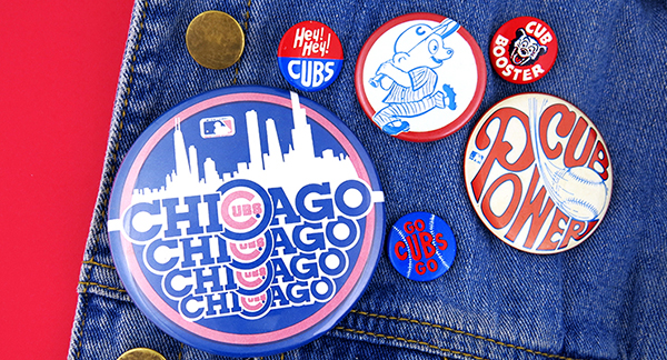 Chicago Cubs buttons