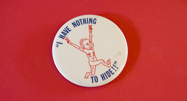 Nixon Streaking Button