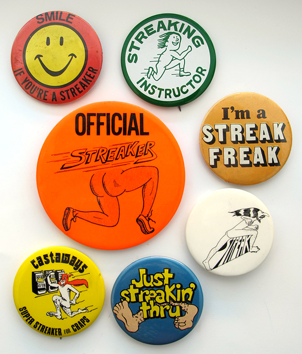 streaking buttons