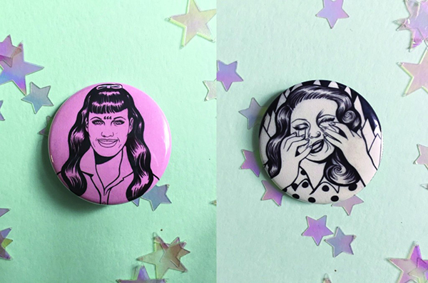 Sophie McMahan buttons