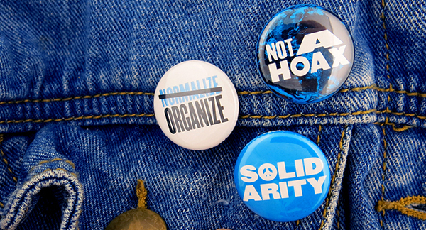 fundraising buttons with nrdc