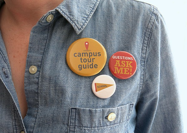 campus guide button