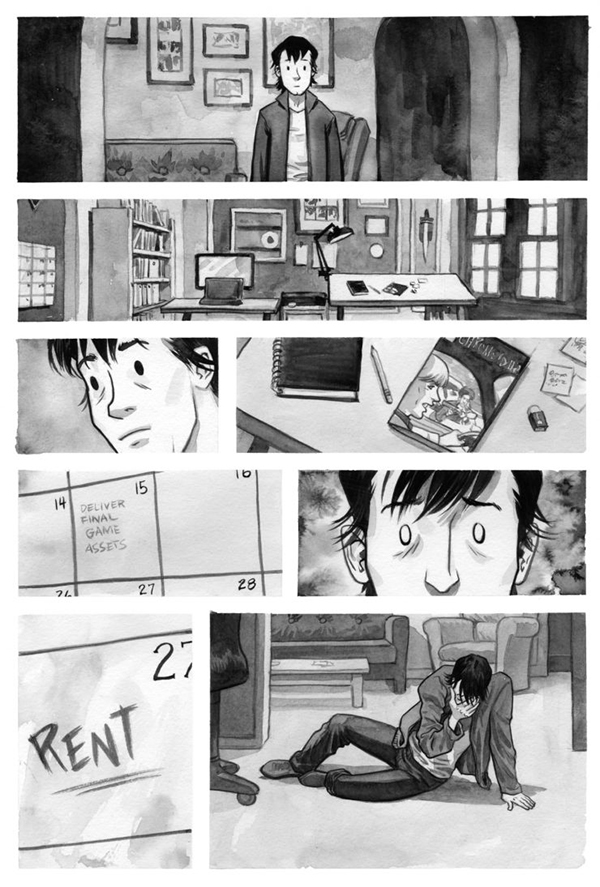 f*cking forty comic page