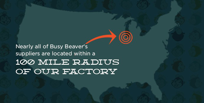Busy Beaver supplier map