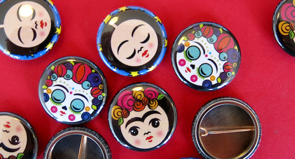 MexiconsArt buttons