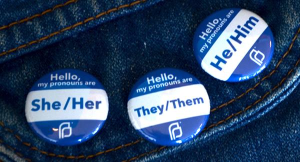 Pronoun Buttons Helping Spread Awareness - Busy Beaver