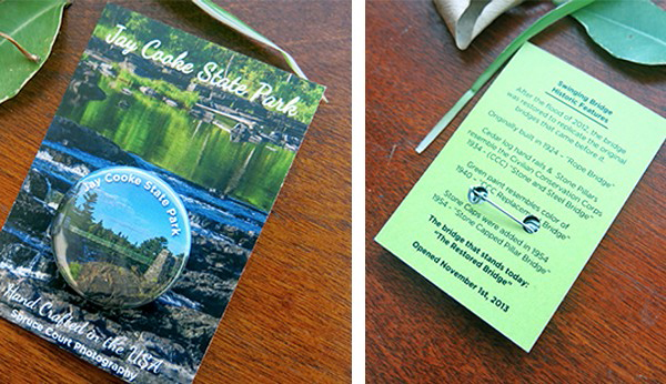 Jay Cooke State Park button pack
