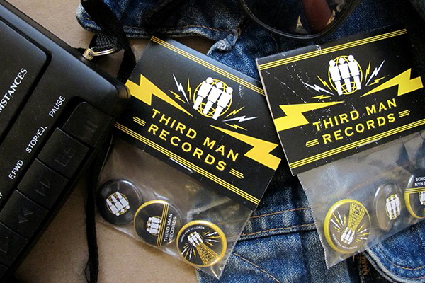 Thirdman Records button packs