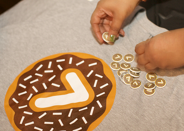 Donuts are Forever custom buttons and tshirts