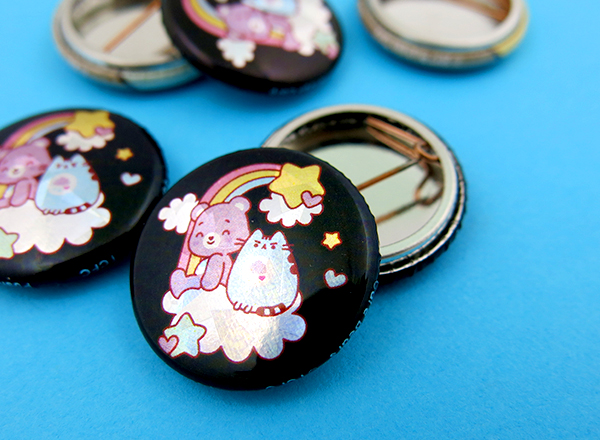 Pusheen Buttons