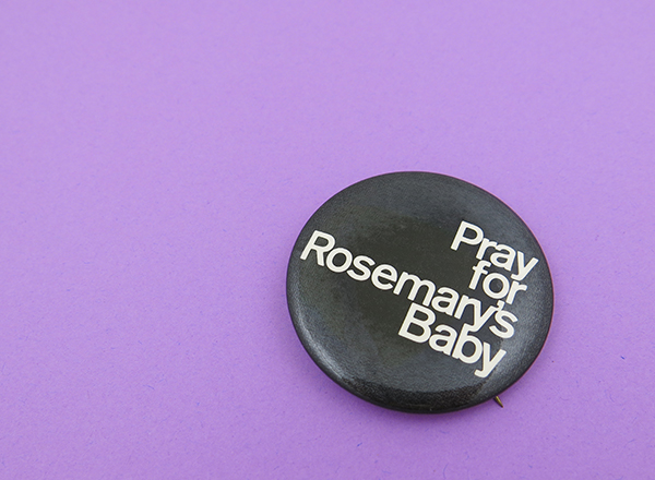 Rosemary's Baby Buttons
